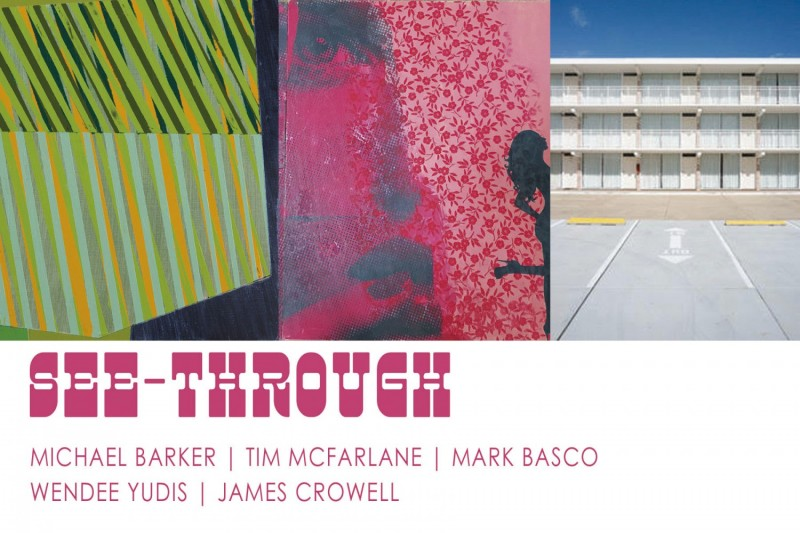 See-Through group show at James Oliver Gallery