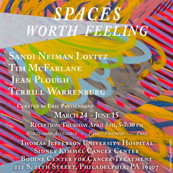 Tim McFarlane-Spaces Worth Feeling